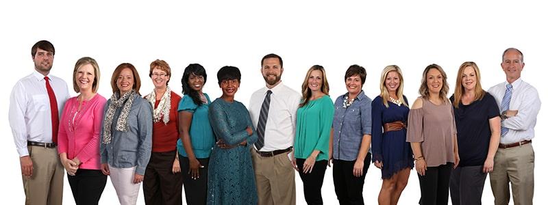 The Creekside dental team in Loganville