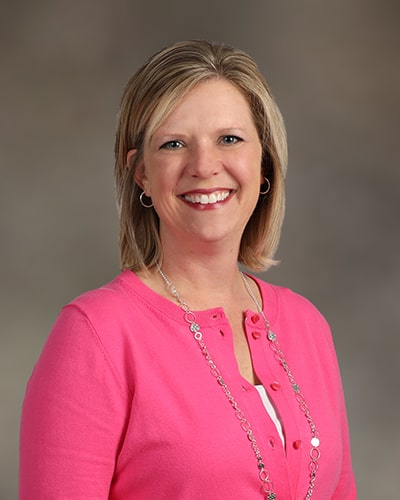 Dawn Barrett (office manager) from the Loganville dental team at Creekside